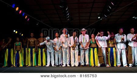 Projecto Axe' (music, Dance And Capoeira) From Brazil At Umbria Jazz Festival