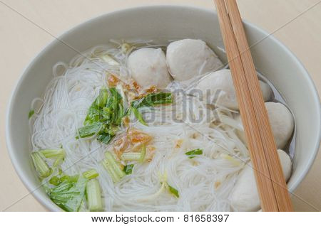 Pork Ball Noodles