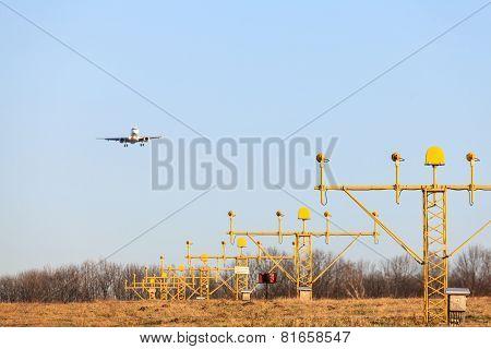Airplane's Landing