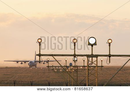 Navigation Lights At The Airport