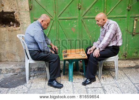 Backgammon In Jerusalem