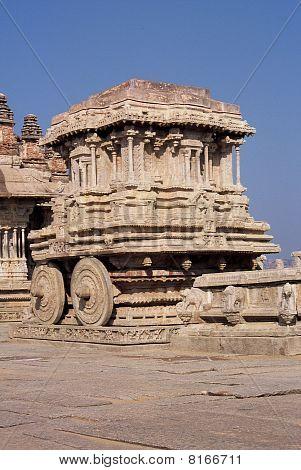 Stone Chariot Hampi India
