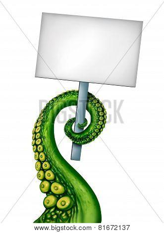 Alien Creature Banner