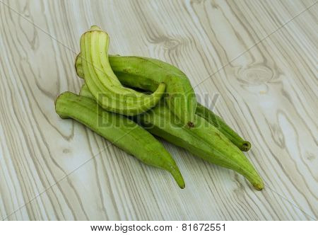 Okra Vegetables