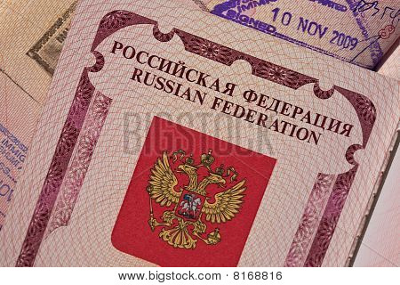 Russian Federation Passport Front Page