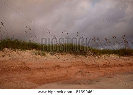 Angry Sky Over Dune