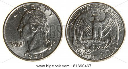American Quarter from 1998