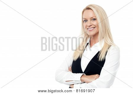 Confident Middle Aged Woman