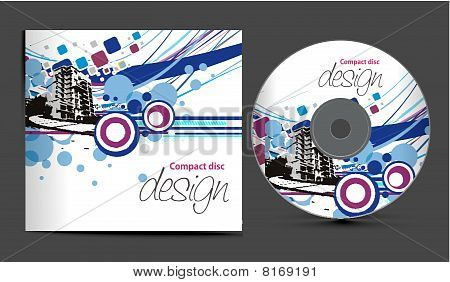 vector cd cover design template with copy space Stock ...