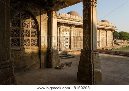 Sarkhej Roza Mosque In Ahmedabad