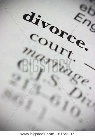 Dictionary Word Divorce