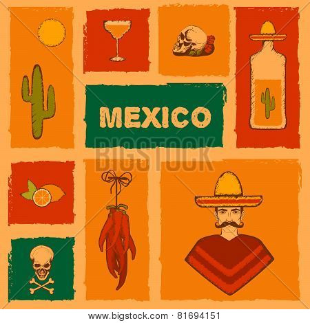 mexico background,