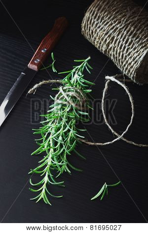Twig Of Fresh Rosemary