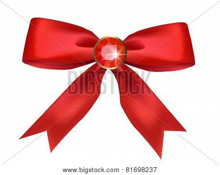 Bow with ruby