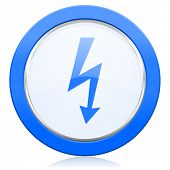 picture of bolt  - bolt icon flash sign  - JPG