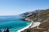 pic of pch  - This is an image of The Big Sur coast in Central California - JPG