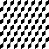 pic of trapezoid  - Black and white geometric seamless pattern abstract background with trapezoid vector illustration - JPG