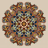 image of east-indian  - beige colour mandala - JPG
