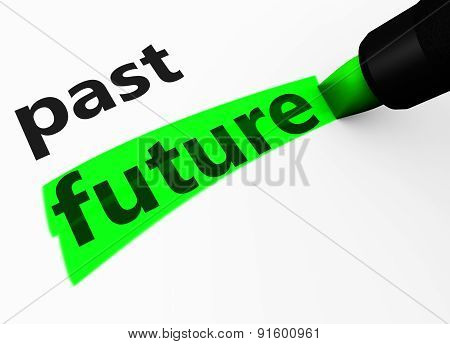 Future Vs Past Choice Concept