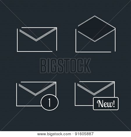 Letters for messages