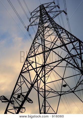 Electricity Pylon National Grid Power Line