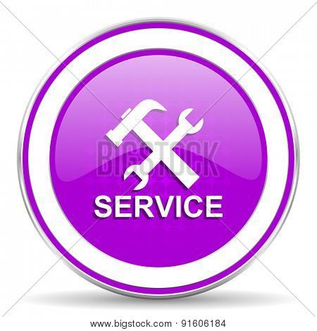 service violet icon