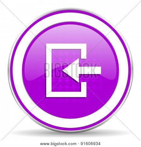 enter violet icon