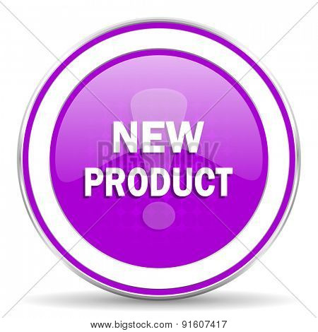 new product violet icon