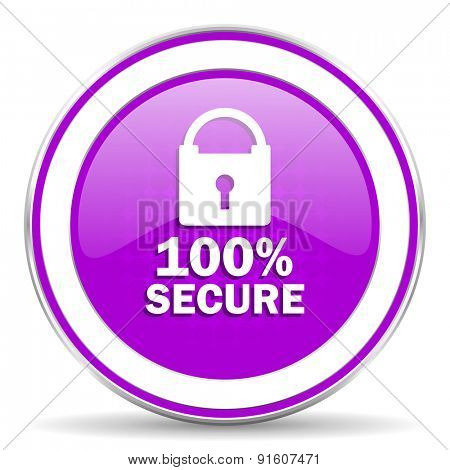 secure violet icon