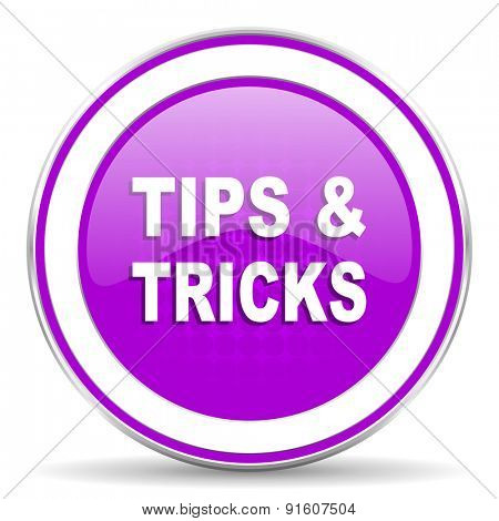 tips tricks violet icon