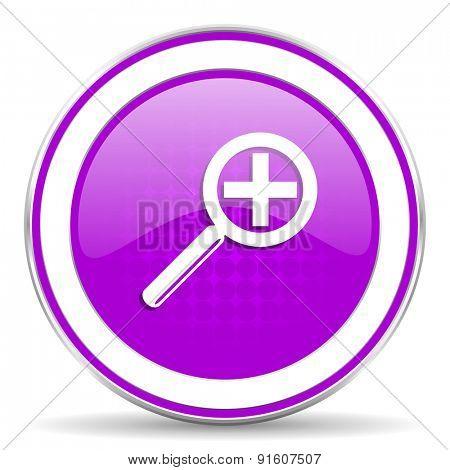 lens violet icon