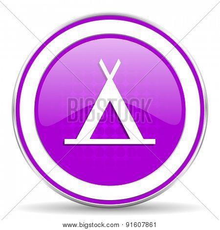 camp violet icon