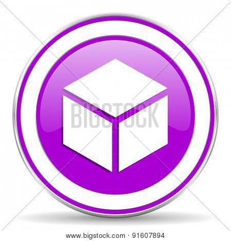 box violet icon