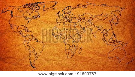 Uae Territory On World Map