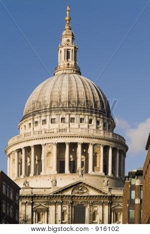 poster of St Pauls Cathedral City Of London England