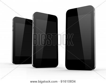 Three Mobile Phones