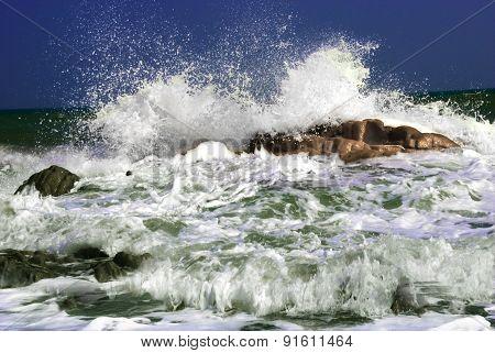 Tidal spectacular scenery