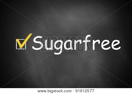 Chalkboard Checkbox Checked Sugarfree