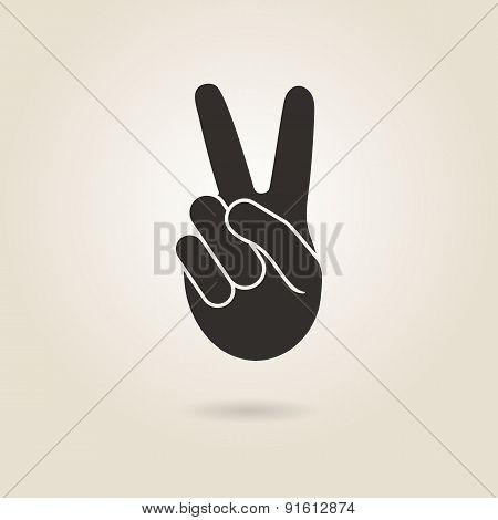 Hand Gesture Victory