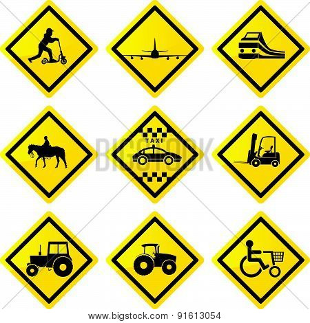 Transportation Signs