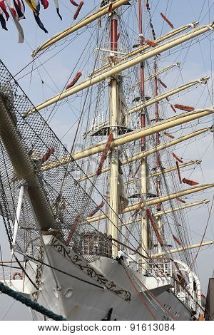 Rigging Of The Russian Windjammer Mir