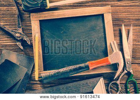 Vintage Carpentry, Construction Hardware Tools