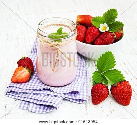 Strawberry Yogurt