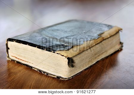 Tattered Old Vintage Holy Bible
