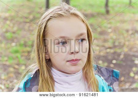 Chewing Cute Girl