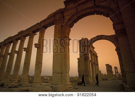 Syria Palmyra Roman Ruins