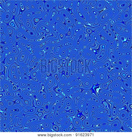 Abstract Fractal Blue And White Distorted Background