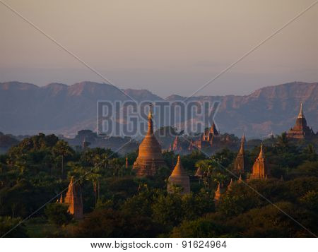 Bagan, An Ancient City Located In The Mandalay Region Of Burma.