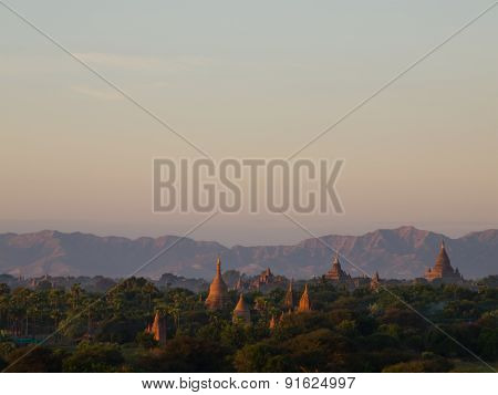 Bagan, An Ancient City Located In The Mandalay Region Of Burma