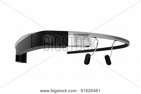 Smart Glass Isolated On A White Back Ground